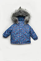 Куртка зимняя для мальчика, флис, курточка для мальчика из мембранной ткани ( 4-6 лет )