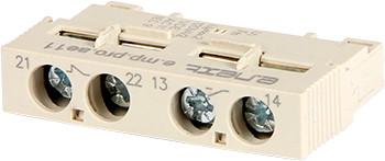 Блок дополнительных контактов фронтальный для АЗД (0,4-32) e.mp.pro.ae11: дополнительный 1NO + 1NC ENEXT