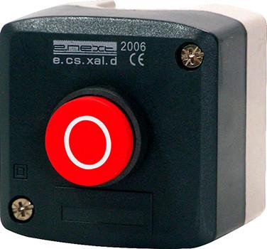 Кнопочный пост e.cs.stand.xal.d.115, stop, выпуклая кнопка Енекст [s006011]