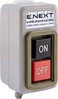 Кнопочный пост металлический e.mb.stand.xal.06a 3 фазы, 6А, On-Off Енекст [s006023]