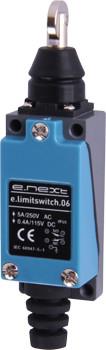 Выключатель концевой e.limitswitch.06, 5А, 1NO+1NC, толкатель с вертикальным роликом ENEXT [s0070010]