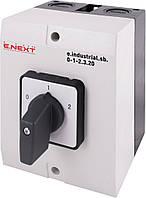 Пакетный переключатель в корпусе e.industrial.sb.0-1-2.3.20, 3р, 20А (0-1-2) ENEXT [i0360015]