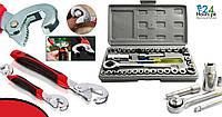 Aiwa Best Quality 40 Pcs Auto Repair Ручной инструмент Комбинированный торцевой ключ с универсальными ключами