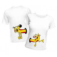 """Парные футболки """"Кото-пёс"""""""