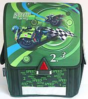 """Ранец """"TIGER"""" №21009-1B Мотоцикл"""