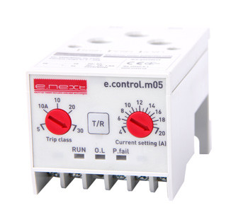 Реле защиты двигателя e.control.m05, 4-20А ENEXT [p0690019]