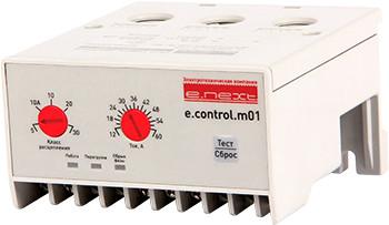 Реле защиты двигателя e.control.m01, 12-60А ENEXT [p0690001]