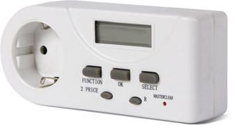 Реле контроля активной мощности однофазное розеточное e.control.w01, 16А ENEXT [i0310023]