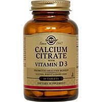 Цитрат кальцію з вітаміном Д3 Solgar таблетки №60