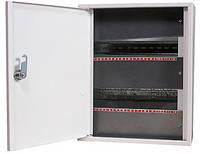 Шкаф e.mbox.stand.n.24.z металлический, под 24 мод., навесной, с замком ENEXT [s0100025]