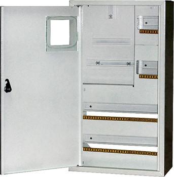 Шкаф распределительный e.mbox.stand.n.f3.36.z.e под трехфазный электронный счетчик+ 36 мод., навесной с