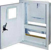 Шкаф распределительный e.mbox.stand.w.f1.12.z.e под однофазный электронный счетчик+ 12 мод.страиваемый