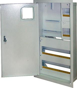 Шкаф e.mbox.stand.w.f3.36.z.e металлический, под 3-ф.  36 мод., встраиваемый с замком Енекст [s0100074]