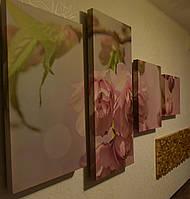 Набор акустических панелей в виде модульных картин., фото 1