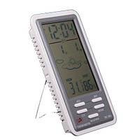Термометр DC-801 + гигрометр, часы, будильник