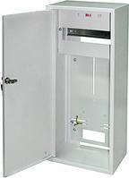Шкаф распределительный e.mbox.RU-3 Z мет. навесной, 3-ф. счетчик,12 мод., 560х255х185 мм замком ENEXT [RU-3 Z]