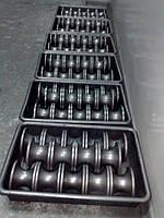 Ролики графитовые для производства стеклоизделий (труб, колб, ампул и т. д. )