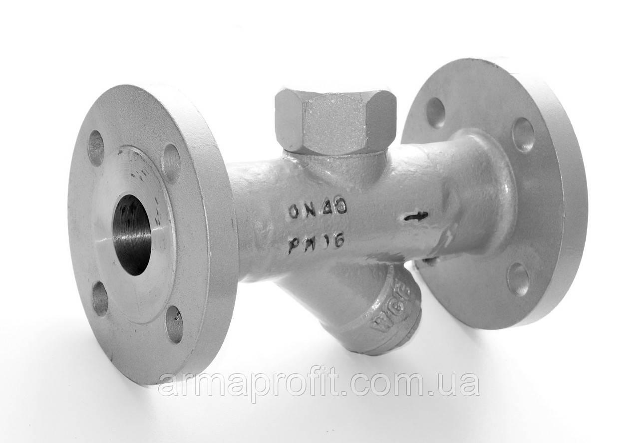 Конденсатоотводчик термодинамический TDK-5F (D111) фланцевый Ду50 Ру16