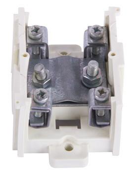 Клеммная колодка магистральная (проходимая) e.tc.main.steel.95, 1х95 мм.кв./4х16 мм.кв..,стальной