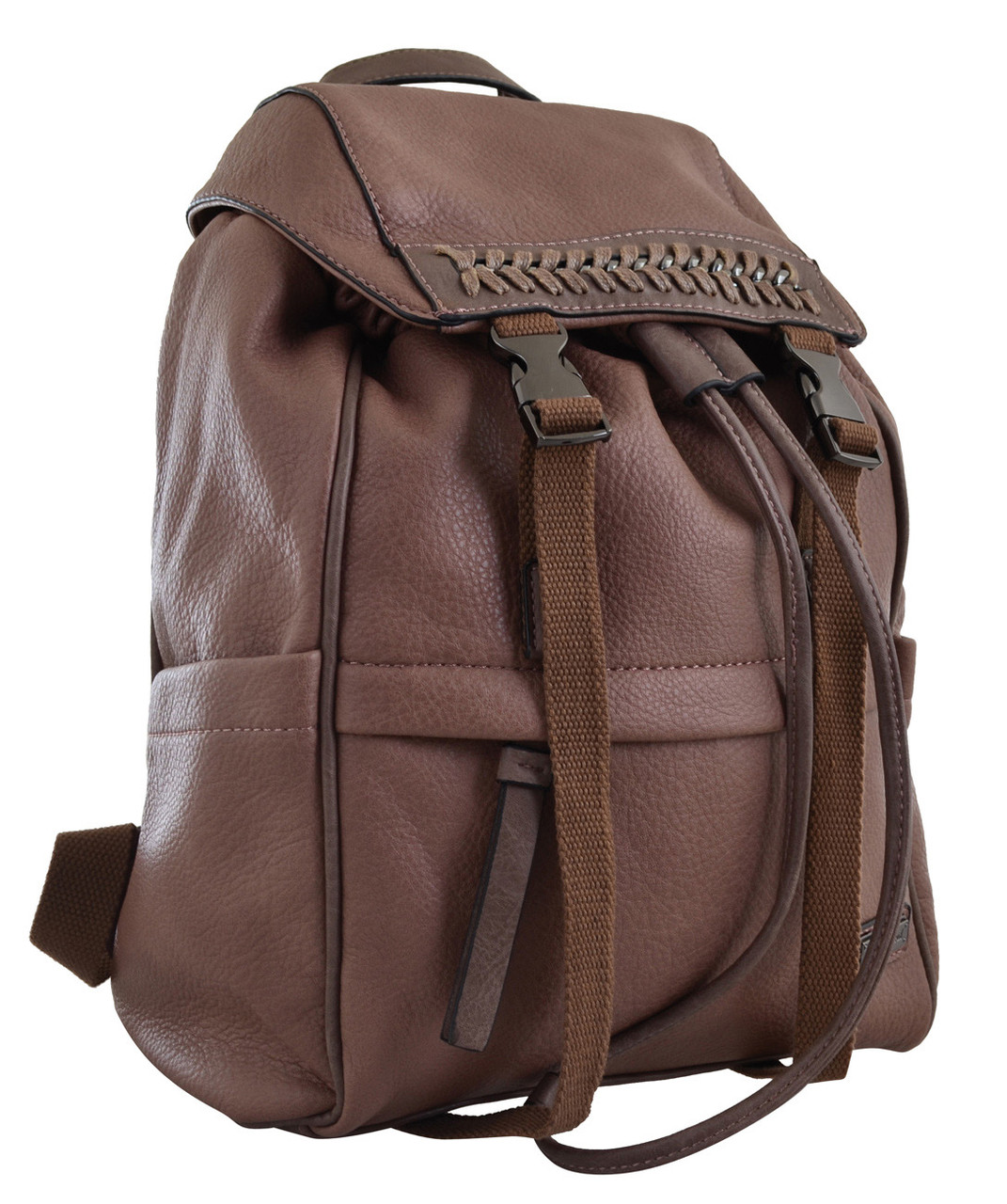 Рюкзак женский YES YW-12, коричневый