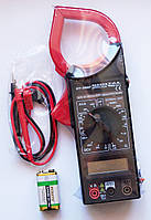 Тестер-клещи DT-266F, мультиметр цифровой | AG450014