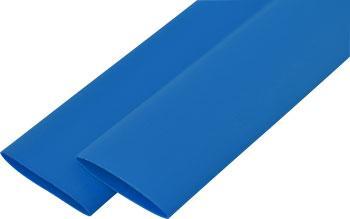 Термоусаживаемая трубка e.termo.stand.12.6.blue 12/6, 1м, синяя Енекст [s024028]