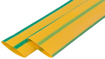 Термоусадочная трубка e.termo.stand.20.10.yellow-green, 1м, желто-зеленая Енекст [s024207]