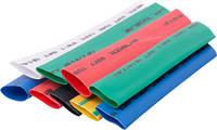 Набор трубок термоусадочных e.termo.stand.set.14.7, (8 цветов), 100 мм, 24 шт. Енекст [s063007]