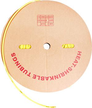 Трубка термоусаживаемая e.termo.stand.roll.12.6.yellow, 12/6, 100м, желтая Енекст [s059032]