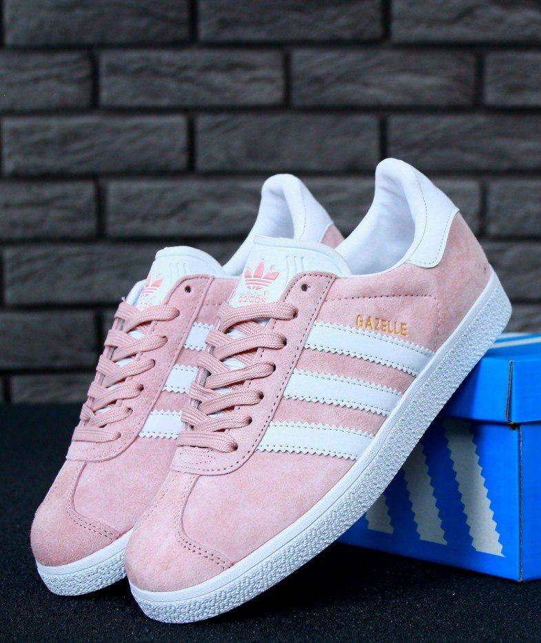 Женские Кроссовки Adidas Gazelle Vapour Pink