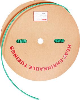 Трубка термоусаживаемая e.termo.stand.roll.2.1.green, 2/1, 200м, зеленая Енекст [s059002]