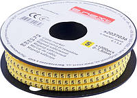 "Маркер кабельный e.marker.stand.0.1.5.5, 0-1,5 кв.мм, ""5"", 1000 шт ENEXT [s2037036]"