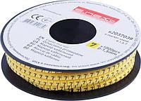 """Маркер кабельный e.marker.stand.0.1.5.7, 0-1,5 кв.мм, """"7"""", 1000 шт Енекст [s2037038]"""