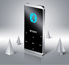 MP3 Плеер RuiZu D02 8Gb Hi-Fi Bluetooth Original Серебро, фото 3