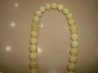 """Чётки из камня """"Янтарь натуральный"""" на 33 бусины , фото 1"""