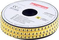 """Маркер кабельный e.marker.stand.2.4.4, 2-4 кв.мм, """"4"""", 500 шт Енекст [s2037063]"""