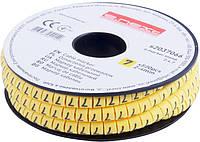 """Маркер кабельный e.marker.stand.2.4.7, 2-4 кв.мм, """"7"""", 500 шт Енекст [s2037066]"""