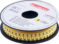"Маркер кабельный e.marker.stand.3.6.9, 3-6 кв.мм, ""9"", 350 шт ENEXT [s2037082]"