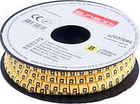 """Маркер кабельный e.marker.stand.3.6.B, 3-6 кв.мм, """"B"""", 350 шт Енекст [s2037084]"""