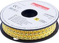 "Маркер кабельный e.marker.stand.3.6.C, 3-6 кв.мм, ""C"", 350 шт ENEXT [s2037085]"