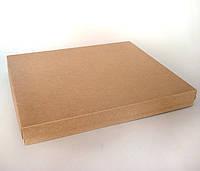 Коробка подарочная из крафт картона, 300х200х30 мм.