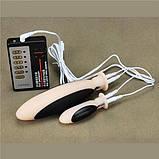 Електро-секс силіконові анальні і вагінальні Plug, фото 2