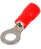 Изолированный наконечник e.terminal.stand.rv3.3,5.6.red 2.5-4 кв.мм, красный ENEXT [s1036050]