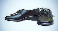 Туфли рабочие кожаные, женские