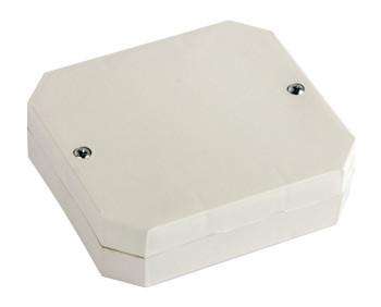 Коробка распределительная e.db.stand.r4.85x85x35K с клеммной колодкой, 85х85х35 мм, IP 44,внешняя