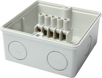 Коробка распределительная e.industrial.db.910.k, 167х125х82 с клеммной колодкой Енекст [i0350007]