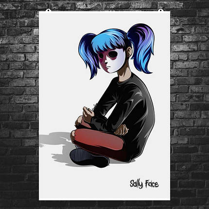 """Постер """"Sally Face"""", постер №3. Размер 60x43см (A2). Глянцевая бумага, фото 2"""