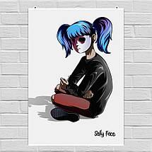"""Постер """"Sally Face"""", постер №3. Размер 60x43см (A2). Глянцевая бумага, фото 3"""