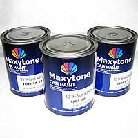 Авто краска (автоэмаль) металлик Maxytone 640 Серебряная 1 л