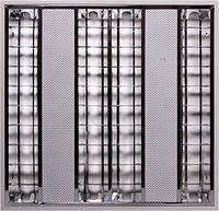 Світильник люмінесцентний растровий, що вбудовується з електронним баластом, лампа Т5 4х14W E.NEXT [l001205]